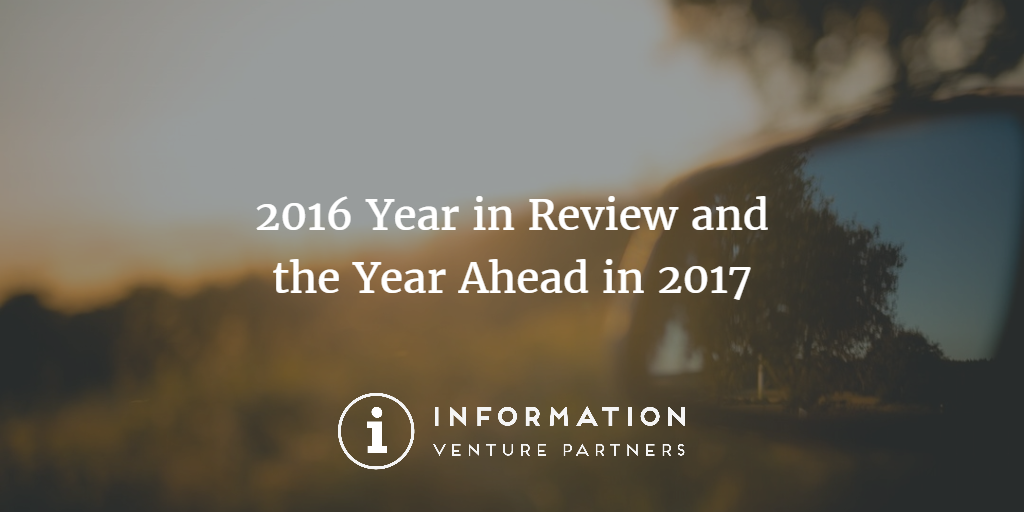 Blog Post: 2016 Year In Review and the Year Ahead in 2017