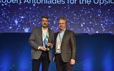 Robert Antoniades awarded the CVCA Ted Anderson Community Leadership Award